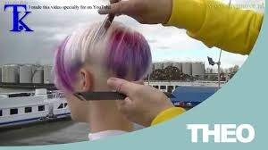 short haircut on the shipyard music video by t k youtube
