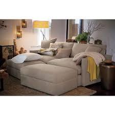 Living Room Incredible Beckham Upholstered Pit Sectional Bassett - Brilliant crate and barrel bedroom furniture home