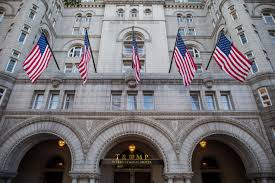 1100 The Flag Donald Trump Opens Trump Hotel In Washington Dc Watch Live Time