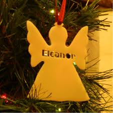 name angel tree ornament