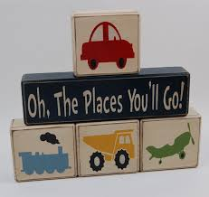 Home Decor Places Oh The Places You U0027ll Go Transportation Cars Trains Dump Truck