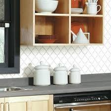 kitchen stick on backsplash backsplash stick on tiles kitchen arabesque tile peel and stick