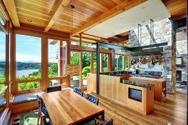 cuisine maison bois cuisine maison bois intu00e9rieur maison bois quels matu00e9riaux