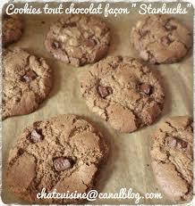 recette hervé cuisine cookies tout chocolat façon starbuck au thermomix chatcuisine