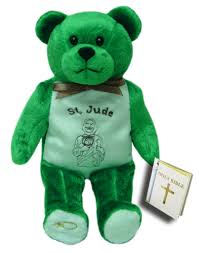st jude gifts st jude st jude holy bears patron saints christian gifts