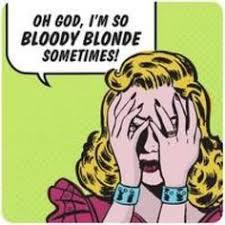 Blonde Moment Meme - blonde moments lol blonde moments duh pinterest blonde