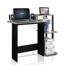 Furinno Laptop Desk Furinno Jaya Simple Design Computer Writing Desk Walnut