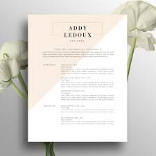 Cool Resume Ideas Creative Resume Template Cover Letter Word Us Letter A4 Cv