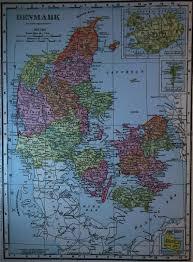 map of denmark 1900