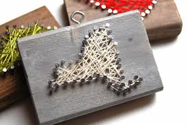 done is better than perfect rustic nail and string art state