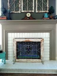 fireplace cover up fireplace cover ideas findkeep me