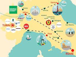 Genoa Italy Map by Eia Italy European Innovation Academy