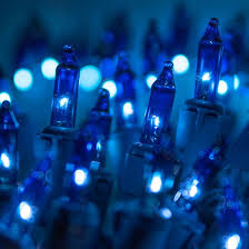 blue 100 light string commercial quality lights all american