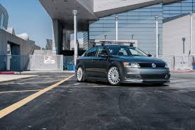 silver volkswagen jetta silver vw jetta wagon rolling on polished rotiform wheels u2014 carid