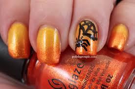 nail aween nail art challenge spider nail art polish groupie