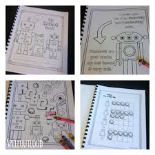 printable robot coloring u0026 activity pack spell out loud
