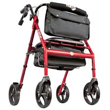 senior walkers with seat hugo elite rollator walker with seat backrest and
