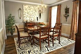 How Big Should Area Rug Be Fancy Area Rug For Dining Room Table Classof Co