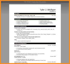 Ms Word 2007 Resume Templates 8 Word 2007 Resume Template Agenda Example