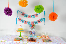 Bday Decorations At Home At Home Birthday Party Ideas Home Design Ideas