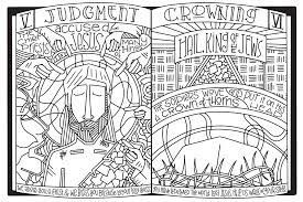 stations of the cross coloring posters u2013 a 2017 lenten art project