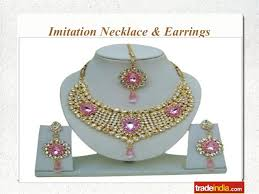 different types of earrings presentation on different types of imitation jewelry