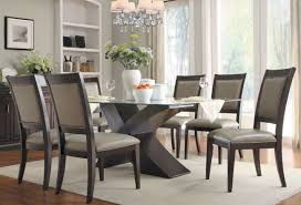 rectangular glass top dining room tables simple 20 rectangle glass dining table design inspiration of