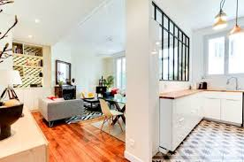 ouverture salon cuisine cuisine ouverte sur la salle à manger 50 idées gagnantes côté maison