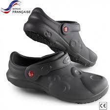 chaussure de cuisine noir chaussure de securite patissier