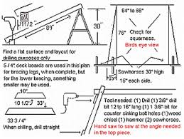 a frame plans free diy a frame porch swing plans free plans free