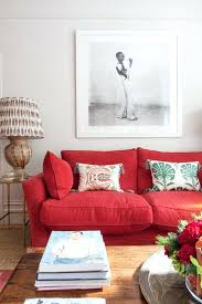red sofa decor red couch decor ideas red leather sofa living room ideas red couch