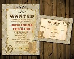 western wedding invitations u2013 gangcraft net