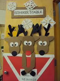 reindeer door doors bulletin board and board