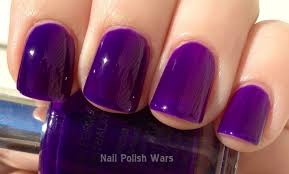 nail polish wars madly in lust with purple