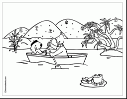 innovative boat coloring page 14 4484