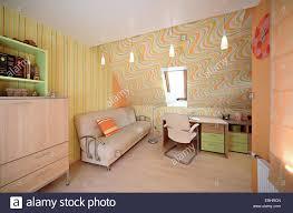 Modern Home Desk by Room For Schooler Interior In The Modern House Desk Book Stock