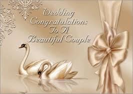 wedding congratulations cards wedding congratulations to a beautiful weddingcongrats