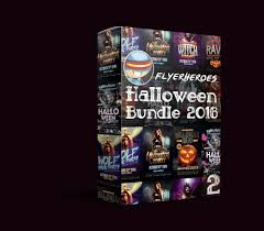 the evil affair halloween party bundle flyerheroes