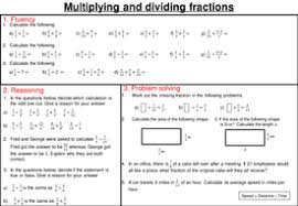 multiplying and dividing fractions mastery worksheet by joybooth