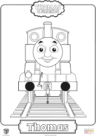 thomas train coloring free printable coloring pages