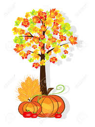 thanksgiving background image vector picture of thanksgiving background with pumpkins crop