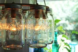 Mason Jar Wagon Wheel Chandelier Mason Jar Hanging Lights Like This Item Diy Mason Jar Light