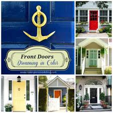 inspirations front door red brick house best color for