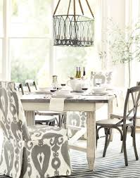 white and grey dining room home design ideas