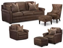 Leather Livingroom Set Furniture Brown Reclining Sofa By Simon Li Leather Sofa For Nice