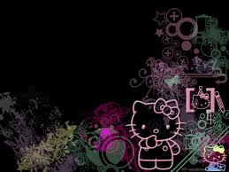 hello kitty wallpaper screensavers hello kitty black glitter background hello kitty wallpaper desktop