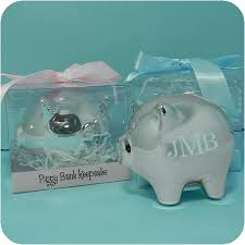 silver piggy bank for baby baby piggy bank