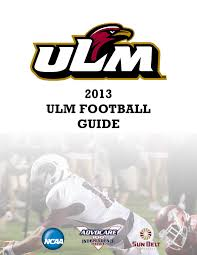 2013 ulm football guide by ulm issuu