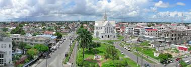 Google Maps Spain by Google Map Of Georgetown Guyana Nations Online Project