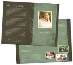 memorial program ideas how to write a funeral program